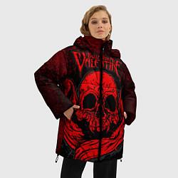 Куртка зимняя женская BFMV: Red Skull цвета 3D-черный — фото 2