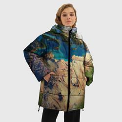 Куртка зимняя женская Земля - фото 2