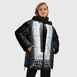 Куртка зимняя женская Metallica: Death Magnetic - фото 2