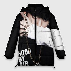 Куртка зимняя женская BTS: Hood by air цвета 3D-черный — фото 1