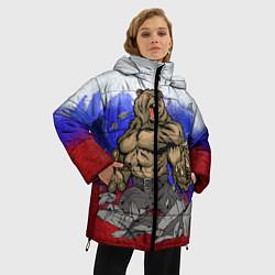 Куртка зимняя женская Русский медведь - фото 2