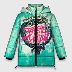 Женская зимняя 3D-куртка с капюшоном с принтом BMTH: Sempiternal, цвет: 3D-черный, артикул: 10073643506071 — фото 1