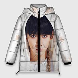 Куртка зимняя женская Jeon Jung Kook цвета 3D-черный — фото 1