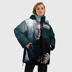 Куртка зимняя женская Armin Van Buuren цвета 3D-черный — фото 2