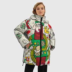 Куртка зимняя женская Червовый король - фото 2