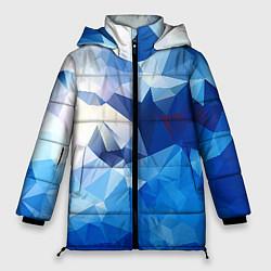 Куртка зимняя женская Абстракция цвета 3D-черный — фото 1