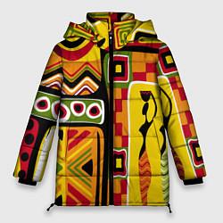 Куртка зимняя женская Африка цвета 3D-черный — фото 1