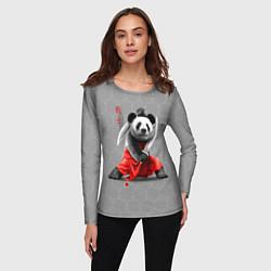 Лонгслив женский Master Panda цвета 3D — фото 2