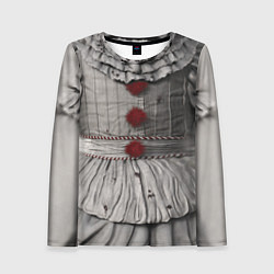 Лонгслив женский Пеннивайз костюм цвета 3D — фото 1