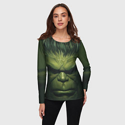 Лонгслив женский Immortal Hulk цвета 3D-принт — фото 2