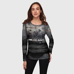Лонгслив женский Nickelback Repository цвета 3D-принт — фото 2