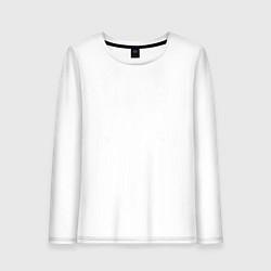 Лонгслив хлопковый женский Limited Edition 1971 цвета белый — фото 1