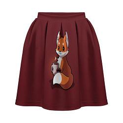 Женская юбка Кофе любят не только люди