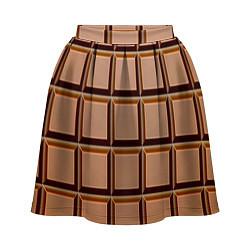 Женская юбка Шоколад