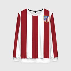 Свитшот женский Атлетико Мадрид цвета 3D-белый — фото 1