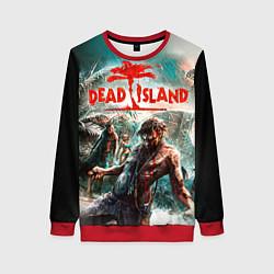 Свитшот женский Dead Island цвета 3D-красный — фото 1