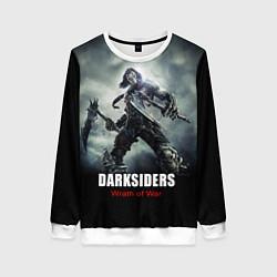 Свитшот женский Darksiders: Wrath of War цвета 3D-белый — фото 1