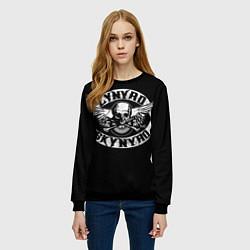 Свитшот женский Lynyrd Skynyrd цвета 3D-черный — фото 2