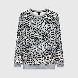 Свитшот женский White Jaguar цвета 3D-меланж — фото 1