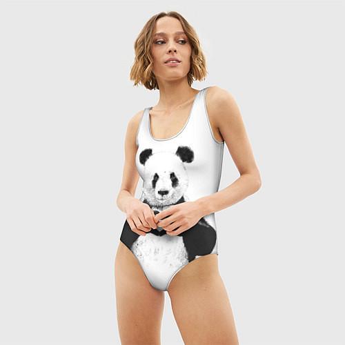 Женский купальник-боди Panda Love / 3D – фото 3