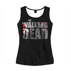 Майка-безрукавка женская The Walking Dead: RIck цвета 3D-черный — фото 1