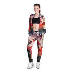 Олимпийка женская Kendrick DAMN цвета 3D-серый — фото 2