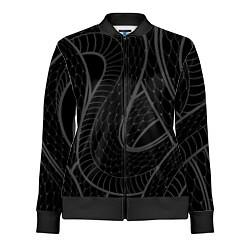 Олимпийка женская Змеи цвета 3D-черный — фото 1