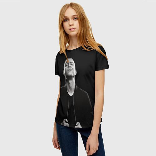 Женская футболка Oxxxymiron / 3D – фото 3