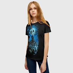 Футболка женская Zombie Island цвета 3D — фото 2