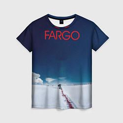Футболка женская Fargo цвета 3D — фото 1