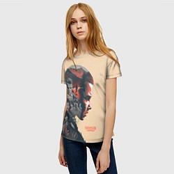 Женская 3D-футболка с принтом Stranger Things, цвет: 3D, артикул: 10140032103229 — фото 2