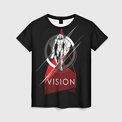 Футболка женская Vision цвета 3D — фото 1