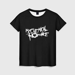 Футболка женская My Chemical Romance spider цвета 3D-принт — фото 1