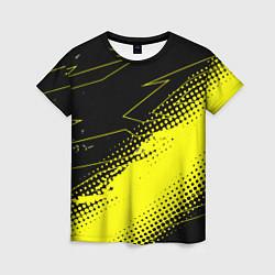 Футболка женская Bona Fide Одежда для фитнеcа цвета 3D-принт — фото 1