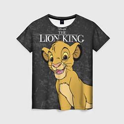 Футболка женская Король Лев цвета 3D — фото 1