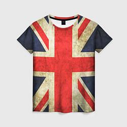 Футболка женская Великобритания цвета 3D — фото 1