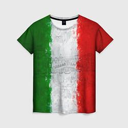 Футболка женская Italian цвета 3D — фото 1