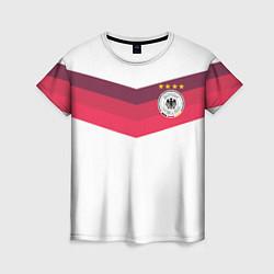 Футболка женская Сборная Германии по футболу цвета 3D-принт — фото 1